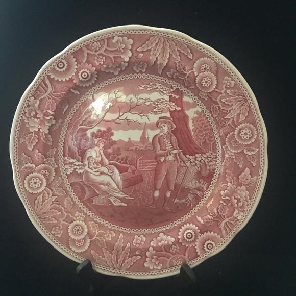 Spode Plate Georgian Series Woodman